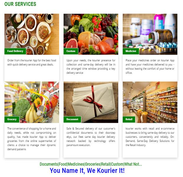 Courier Management Software - Wincent Technologies -Website